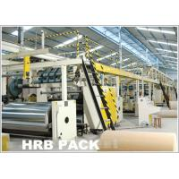 Buy cheap automatic 3 plant 5 plant 7 ply corrugated cardboard machine production line from wholesalers