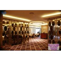 China Classical decorative stainless steel screens & room dividers for hotel lobby decoration on sale