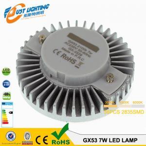Buy cheap Le prix usine Gx53 de logement a mené l'ampoule, 8w la lumière menée par Smd Gx53, haut aluminium d'ampoule mené par Gx53 de lumen product