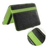 Buy cheap Personalized PU Leather Magic Bifold Wallet With RFID Blocking Function product