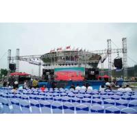 Buy cheap Spigot 6061-T6 6082-T6 Aluminum Stage Truss For Corporate Events Concerts product