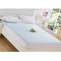 China tpu laminated green bird eye fabric queen waterproof mattress