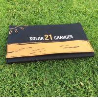 Buy cheap Solar Charger Foldable 21W Solar Panel with 2USB Ports Waterproof Camping Travel for iPhone Xs XR X 8 7 Plus, iPad product