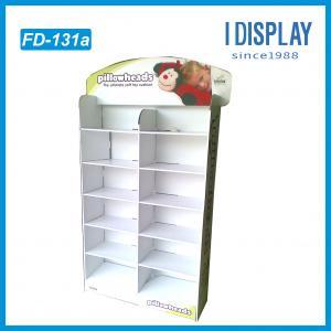 China Brochure display, cardboard magazine display,newspaper floor display on sale
