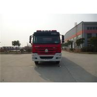 Buy cheap 380HP Engine Power Motorized Fire Truck With Water Pump Transmission System product