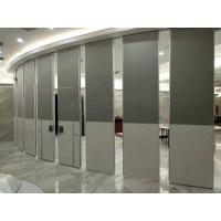 Buy cheap Nature Wood Veneer Finish  Acoustic Aluminum Frame100MM Thickness Movable Partition Wall product