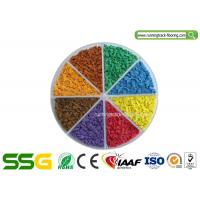 Buy cheap 8 mm Thickness EPDM Granule for Running Track Rubber Court SGS from wholesalers