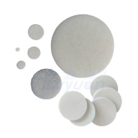 Buy cheap Liquid Filtration 30Mpa Mini Sintered UHMWPE PVDF Porous Filter Disc product