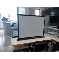 """Buy cheap Portable Motorized 40"""" Projection Screens Fabric , Hd Projector Screen product"""