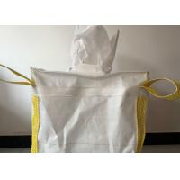 Buy cheap Breathable Virgin PP 1 Ton Bulk Bag , UV Treated Transparent PP Bulk Bags product