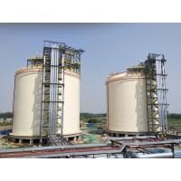 Buy cheap Natural Gas Storage Tank 10000m3 Single Containment LNG Tank ISO9001 CE product