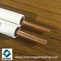 Buy cheap 15.88mm Thermal Insulated Copper Pipe Air Conditioner Connection Copper Pipe product