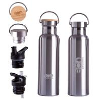 Buy cheap 750ml Double Wall Stainless Steel Vacuum Insulated Water Bottle product