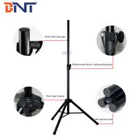 China with 35mm thick steel pipe 895mm fold length Enhanced speaker three-legged bracket on sale