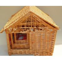 Buy cheap pet's wicker basket for sale , pet house for dog and cat product