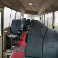 Buy cheap TOYOTA 1HZ Engine Used Coaster Bus 37000km Second Hand Mini Bus product