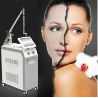 Buy cheap 2018 newest nanosecond laser technology freckle treatment tattoo pigment hair removal 1064nm 532nm from wholesalers
