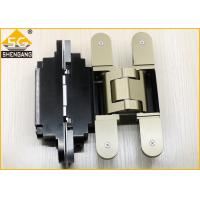 German Metal Invisible Door Hinges Thickness 60mm Load 100 Kg Per Pair for sale