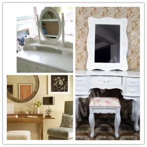 Buy cheap Vidrio de plata oval blanco del espejo product