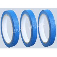 Buy cheap Blue Heat Resistance Paper Masking Tape For Masking Surface During Painting product