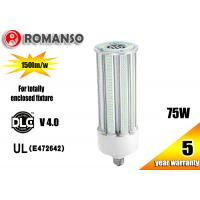 Buy cheap 75w Corn Led Lights 5000K / Indoor Led Warehouse Lighting For 250w HPS Repalcement product