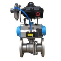 Buy cheap Pneumatic thin type Ball Valve product
