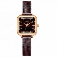 Buy cheap Custom Mesh Band Alloy Quartz Watch , Female Wrist Watches Water Resistant product