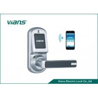Buy cheap Safety Bluetooth Wireless Front Door Lock , Smartphone Controlled Door Lock product