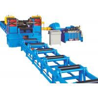 Buy cheap Automatic H Beam Straightening Machine Hydraulic Type Max 80mm Flange Thickness product