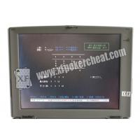 Buy cheap Grey Plastic Professional Card Cheat Computer , Casino Gambling Devices product