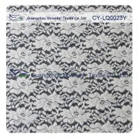 Buy cheap Thick Brushed Bridal Lace Cotton Nylon Fabric For Lady Winter Dress product