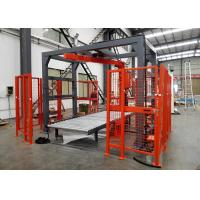 Buy cheap Auto Wrapper Rotary Arm Stretch Wrapper Fully Automatic Max 45 Pallets/H Packing Speed product