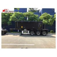 Buy cheap Transport Container Skeletal Container Trailer 3 Axles Lightweight Heavy Capacity product