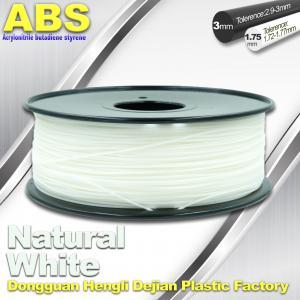 Buy cheap Filamento transparente del ABS de los buenos del eEasticity 3D materiales de la impresión para la impresora de Cubify product