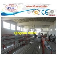 Buy cheap Door / Window PVC Profile Extrusion Line Rain Gutter Machine With Lamination from wholesalers