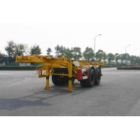 Buy cheap Utility 40ft / 20ft Skeleton Container Trailer Chassis / Semi Trailer 2 Axles product