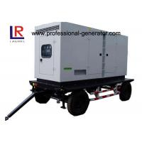 Buy cheap Low Noise 8kw to 500kw Diesel Mobile Power Generator with AC 3 Phase Digital Control Panel from wholesalers