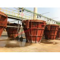 Buy cheap Customized Welded Slag Smelting Pot 3 - 16 Cubic Meters With High Strength from wholesalers