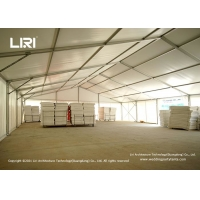 Buy cheap High Quality Warehouse Tent Water Proof PVC  Walls Storage Usage product