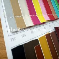 Buy cheap 1mm Thick PU Synthetic Leather Wear Resistence Custom embossed PVC Leather Vinyl Fabric product
