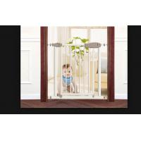 Buy cheap Lightweight One Hand Remove Babies Safety Gates For Stairs , Easy To Install product