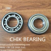 China 6201&6202 open,zz, Rs, 2RS. 2z red/black sealed chrome steel deep groove ball bearing for ceiling fan on sale