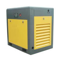 Buy cheap 8 bar PLC High Power Rotary Screw Air Compressor Two Stage One Year Warranty from wholesalers
