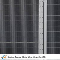 Buy cheap Security Fence Panels|Carbon Steel Wire Fencing Security Barrier with Mesh Size 200x50mm product