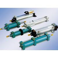 Buy cheap Aluminium alloy supercharge / Pressurized pneumatic air cylinder  , compact pneumatic cylinders product