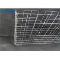 Buy cheap Engineering Steel Mesh Gabion Cages Hot Dipped Galvanized Long Service Life product