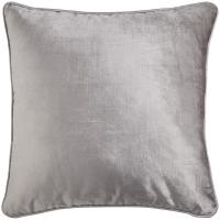 Cozy Square Grey Plain Throw Pillows For Couch , Custom Decorative Pillows