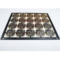 Buy cheap 4 Layers HDI Printed Circuit Boards Black Soldermask White Silkscreen Support SMT product
