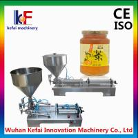 Buy cheap Stainless steel portable paste filler machine from China supplier,tabletop semi automatic product