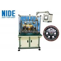 Buy cheap 220v Power Electric Automatic Motor Winding Machine, Double Stations outslot flyer winding machine product